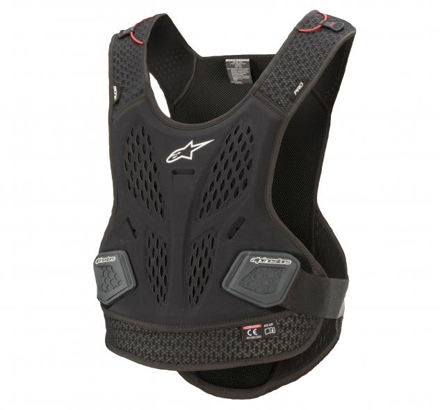 BIONIC PRO CHEST PROTECTOR/BLACK ANTHRACITE
